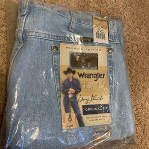 Men's wrangler jeans George strait collection